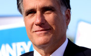 Republican US presidential candidate Mitt Romney